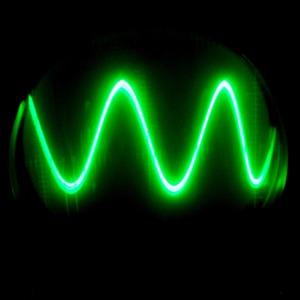 Thumb green sine wave